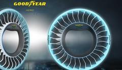 Goodyear AERO : le pneu pour les voitures volantes