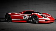 Un concept inédit pour les 50 ans de la Porsche 917