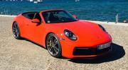 Essai Porsche 911 (992) Cabriolet : Avis de tempête, cheveux au vent !