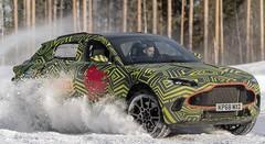 Froid, neige, l'Aston Martin DBX testée dans des conditions extrêmes