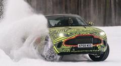 Aston Martin teste son SUV DBX en Suède