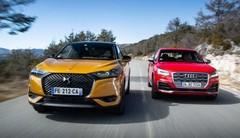 Essai comparatif : le DS3 Crossback défie l'Audi Q2 !