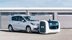 A l'aéroport de Lyon, les voituriers sont des robots