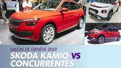 Le Skoda Kamiq face à ses concurrents