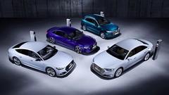 Les Audi Q5, A6, A7 et A8 disponibles en versions hybrides rechargeables