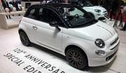 Fiat 500 série spéciale 120 : happy birthday