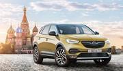 Opel re-tente sa chance en Russie avec le GrandLand X et le Zafira Life