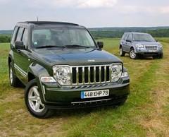 Essai Jeep Cherokee 2.8 CRD vs Land Rover Freelander 2.2 Td4 : Le snob et le cow bow