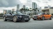 Bentley Continental GT : après le W12, le V8