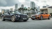 Les Bentley Continental GT Coupé et Convertible 2019 retrouvent le V8