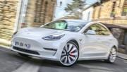 Essai Tesla Model 3 : Branchée en haut débit