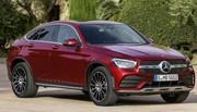 Mercedes GLC 2019 : le coupé lui aussi mis à jour