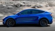 Tesla Model Y crossover sans surprise