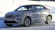 Volkswagen T-Roc Cabriolet : en plein tests sur la neige