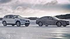 Électriques : BMW montre les iX3 et i4