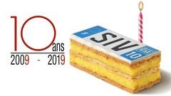 Le système des plaques d'immatriculation SIV fête ses dix ans