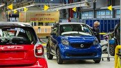 Smart va devenir à moitié chinois et ne produira plus en France