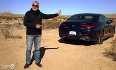Emission Turbo : Mercedes CLS 450 sur les routes de Las Vegas
