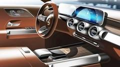 Mercedes : premier teaser pour le GLB