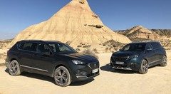 Essai Seat Tarraco vs Peugeot 5008 : duel au soleil