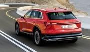 Audi e-tron : autonomie réduite selon l'agence américaine d'homologation