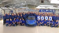 L'Alpine A110 passe la barre des 5000 exemplaires produits
