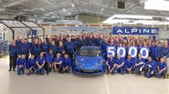 Alpine A110 : le cap des 5 000 exemplaires