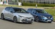 Essai : la Toyota Corolla Hybride défie la Renault Mégane 1.3 TCe
