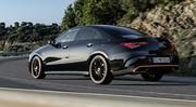Mercedes CLA coupé : Quand la Classe A se veut sexy