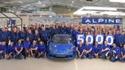 Alpine A110 : la production dans l'usine de Dieppe en vidéo