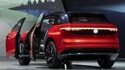 Volkswagen ID. Roomzz, le grand SUV électrique