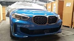 BMW : la nouvelle Série 1 vue sans camouflage
