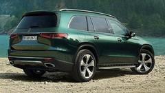 Mercedes : le nouveau GLS en avance, teaser pour le GLB Concept