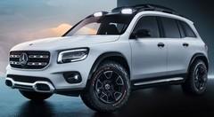 Shanghai 2019 : Mercedes dévoile le Concept GLB