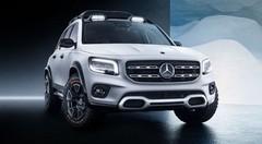 Mercedes Concept GLB : GLC familial