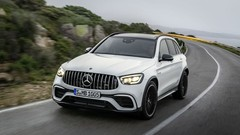 Mercedes GLC : restylage pour les 63 AMG