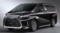 Lexus se lance dans le van de luxe avec le LM