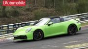 La future Porsche 911 type 992 Targa sans camouflage