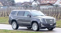Essai Cadillac Escalade : Cé qu'è lainô (celui qui est en haut)