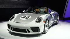 Porsche 911 Speedster (2019) : la 911 des puristes est à New York