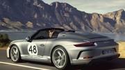 New York 2019 : Porsche dévoile la 911 Speedster