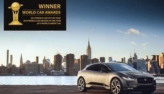 Le SUV-Coupé électrique i-Pace élu voiture mondiale de l'année 2019