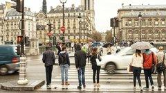 Injures au volant : Paris est tragique