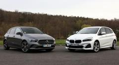 Essai Mercedes Classe B vs BMW Série 2 Active Tourer : chères familles