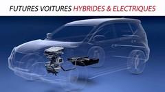 Futures voitures hybrides et électriques