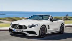 Le futur roadster Mercedes SL déguisé en berline