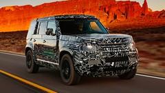 Le nouveau Land Rover Defender termine sa préparation