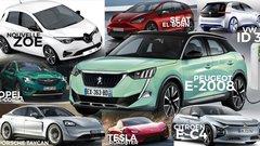 Futures voitures électriques : plus de 40 modèles à venir (2019-2021)