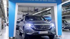 La Mercedes EQC, avec 350 km d'autonomie ?