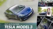 Essai Tesla Model 3 : le test vérité sur son autonomie